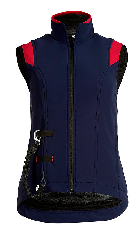 Helite Airshell Gilet Blue Red