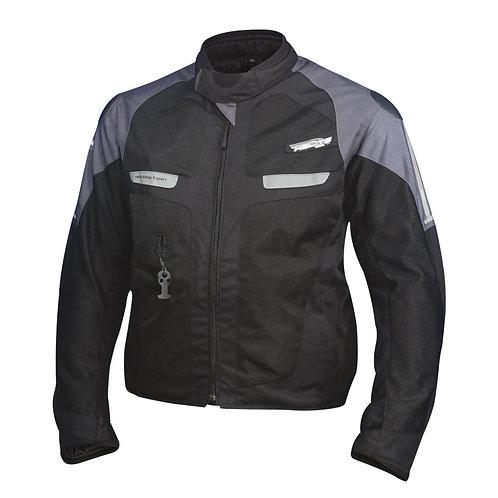 Helite Vented 2 Airbag Jacket - Black