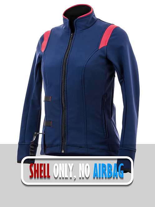 Airshell Blouson Shell Only - Blue Red