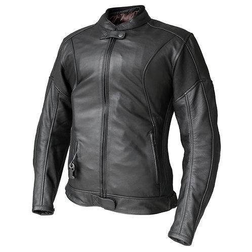 Helite Xena Women Leather Airbag Jacket - Black