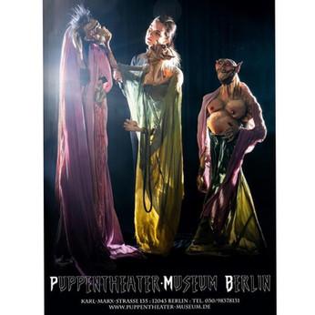 Foto: Fabien Prauss. Figures: Alejandro Coral. Puppentheater-Museum Berlin 2020.
