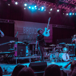 Broadside provides support for Set It Off on the Midnight Tour part 3 in Silver Spring, MD