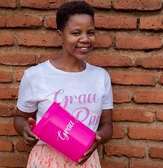 Patricia Grace Pads Malawi .JPG