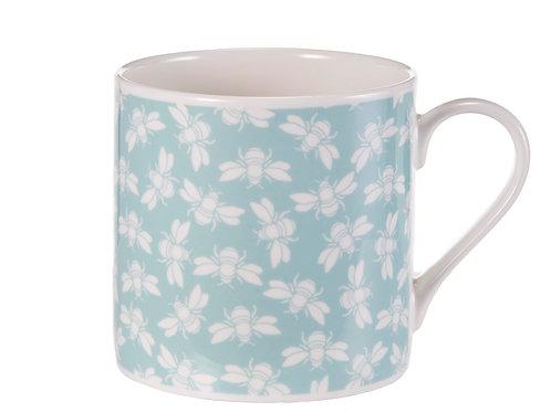 Bee Mug, Blue