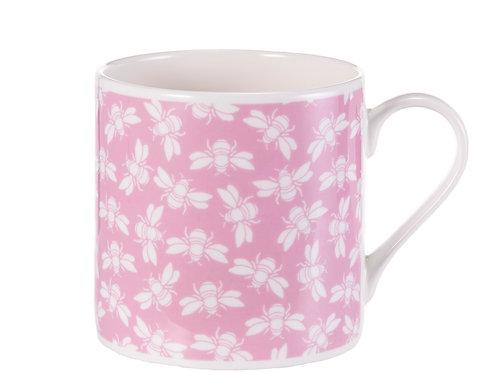 Bee Mug, Pink