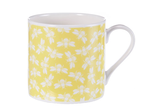 Bee Mug, Yellow