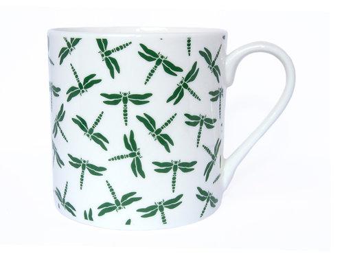 Dragonfly Mug, Green