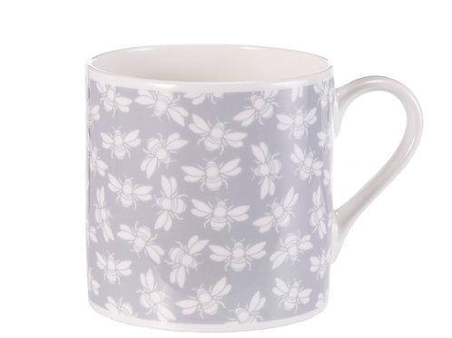 Bee Mug, Grey