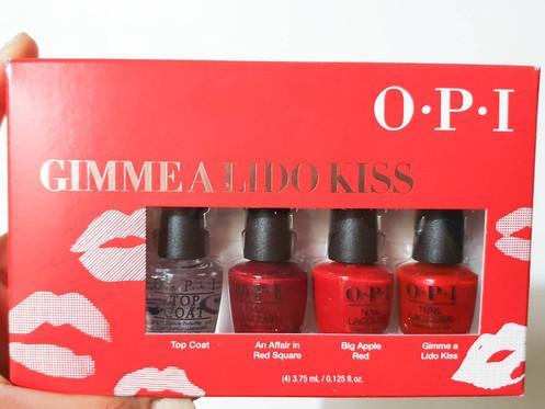 OPI Gimme a Lido Kiss Gift Set