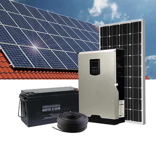 ASPS 701kw,3kw,5kw,10kw,20kw,50kw off grid High frequency solar home system with