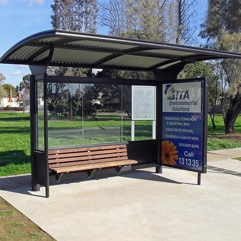 ASPS 236  Solar Power Outdoor Bus Shelter