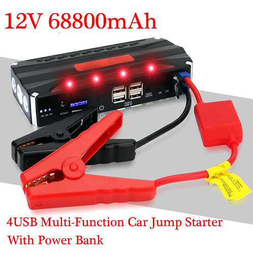 ASP211  4USB Multi-Function Car Jump Starter With Power Bank