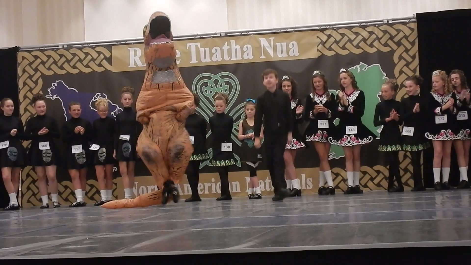 Flying Irish's Dancing Dino Duo