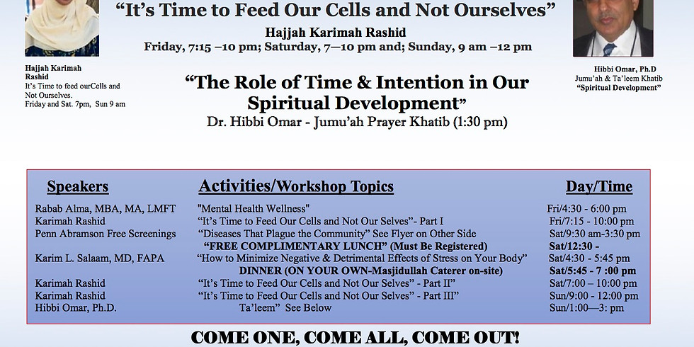 Community Healing Health & Lecture Series
