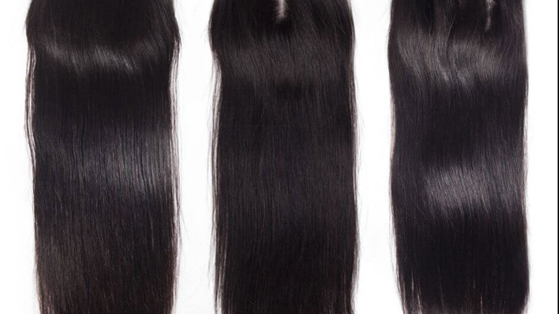 SALE: Raw Indian Closure 4x4(  Straight )