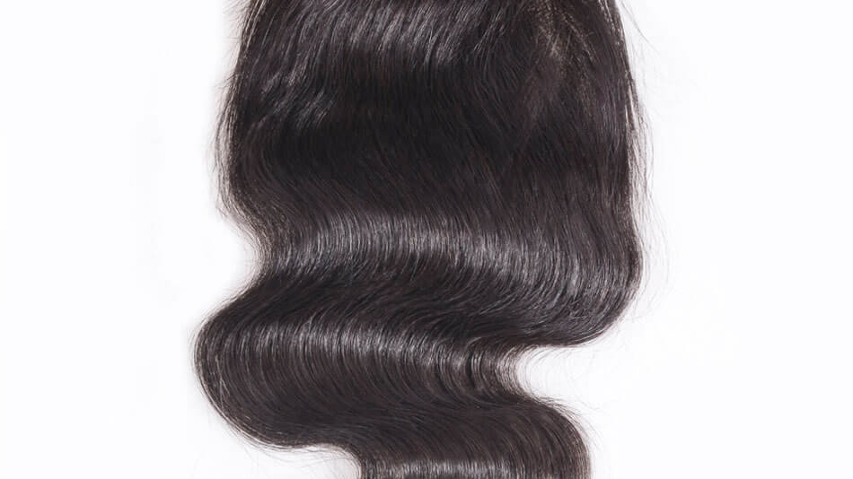 Sale: Raw Indian Closure 4x4( Body Wave  )