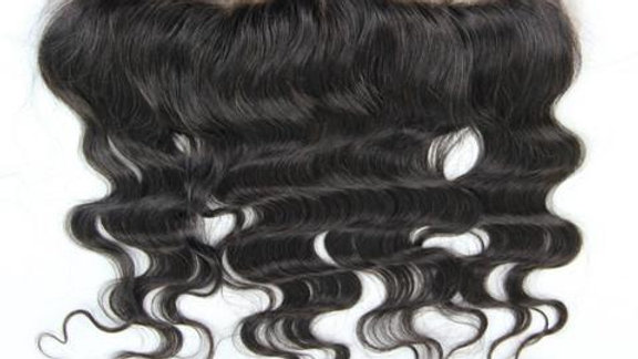 SALE: Raw Indian Straight & Body Wave Frontal 13x4