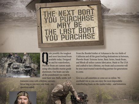 Phowler - the Official Boat of Phil Robertson, the Duck Commander