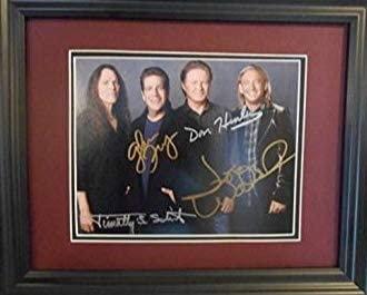 Eagles autographed photo
