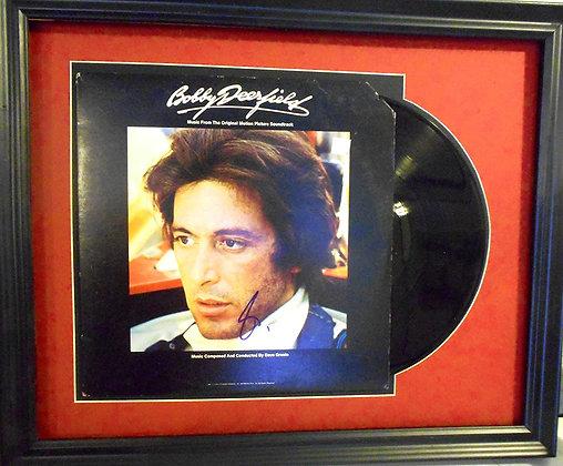 Al Pacino autographed LP