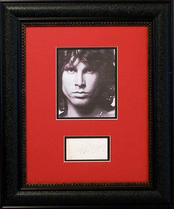 Jim Morrison autograph