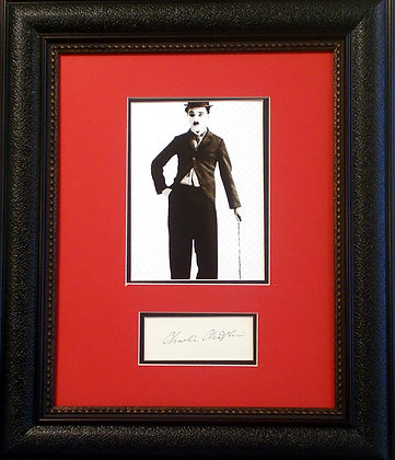 Charlie Chaplin autograph