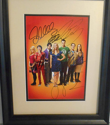 Big Bank Theory Autographed photo