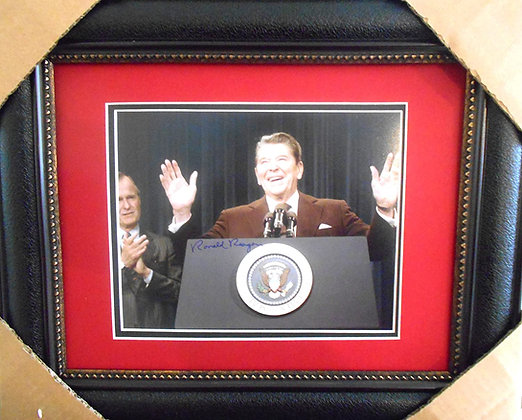 President Ronald Reagan autographed Photo