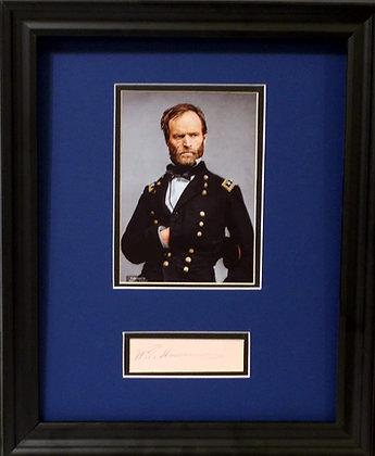General William Sherman autograph