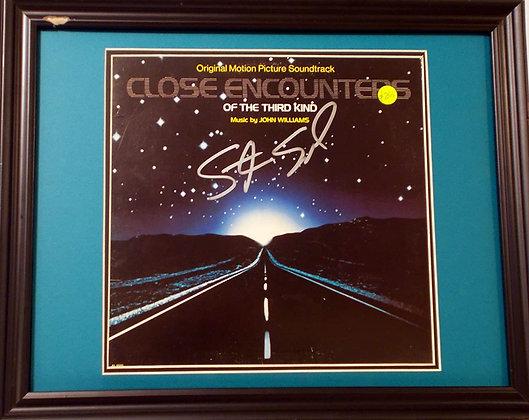 Steven Spielberg autographed LP