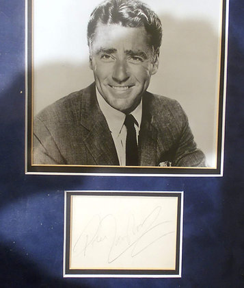 Peter Lawford Autograph