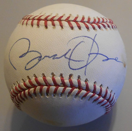 President Obama autographed Baseball
