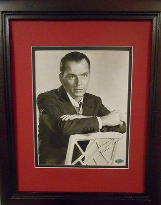 Frank Sinatra autographed photo