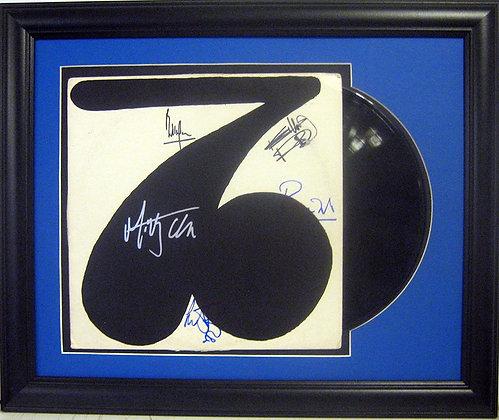 Rolling Stones autographed LP
