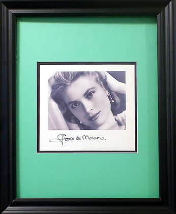 Grace (Kelly) de Monaco autographed photo