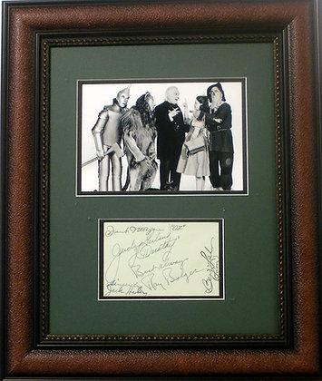 Wizard of Oz cast autographs