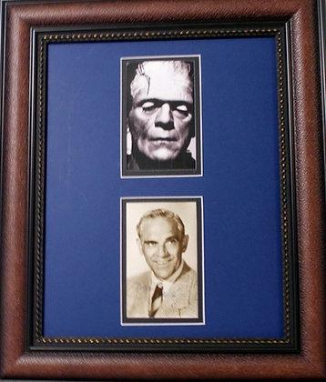 Boris Karloff autographed photo
