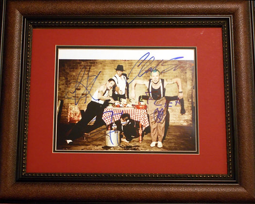 Red Hot Chili Peppers autographed photo