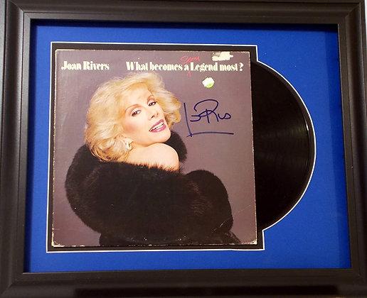 Joan Rivers autographed LP