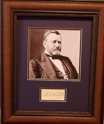 President Ulysses Grant autograph