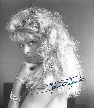 Farrah Fawcett autographed photo