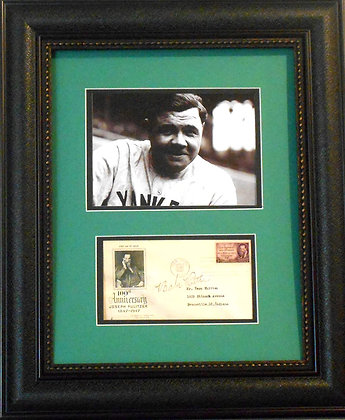 Babe Ruth Autographed FDC