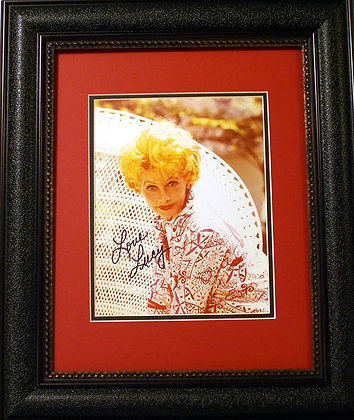 Lucille Ball autographed photo