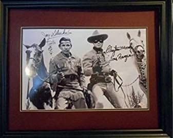 Lone Ranger and Tonto autograhed photo