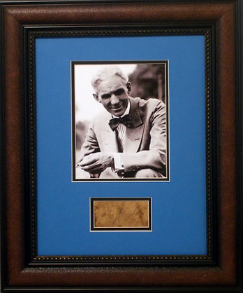 Henry Ford autograph