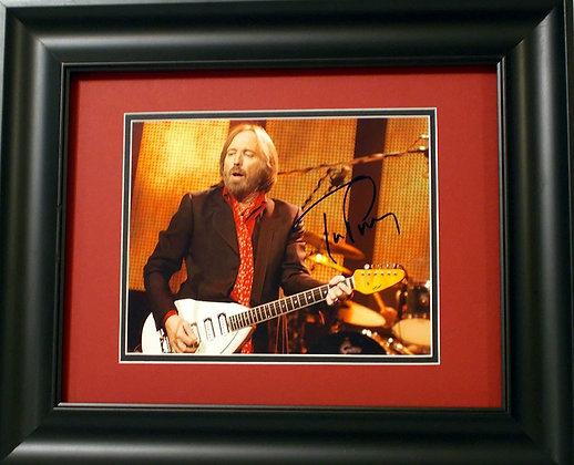 Tom Petty autograped photo