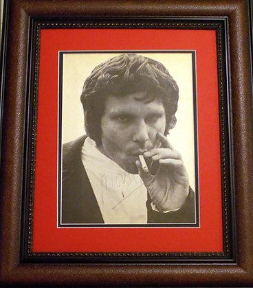 Jim Morrison autographed Magazine Photo