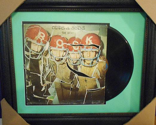The Who autograhed LP