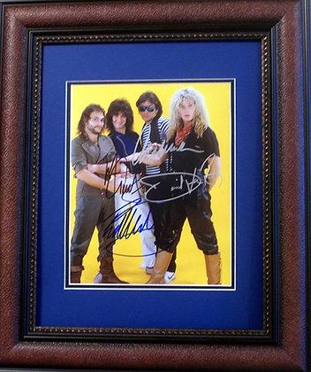 Van Halen autographed photo