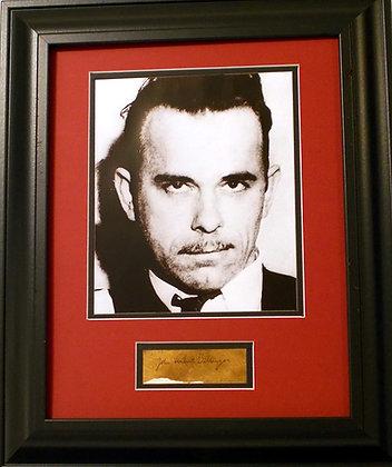 John Dillinger autograph